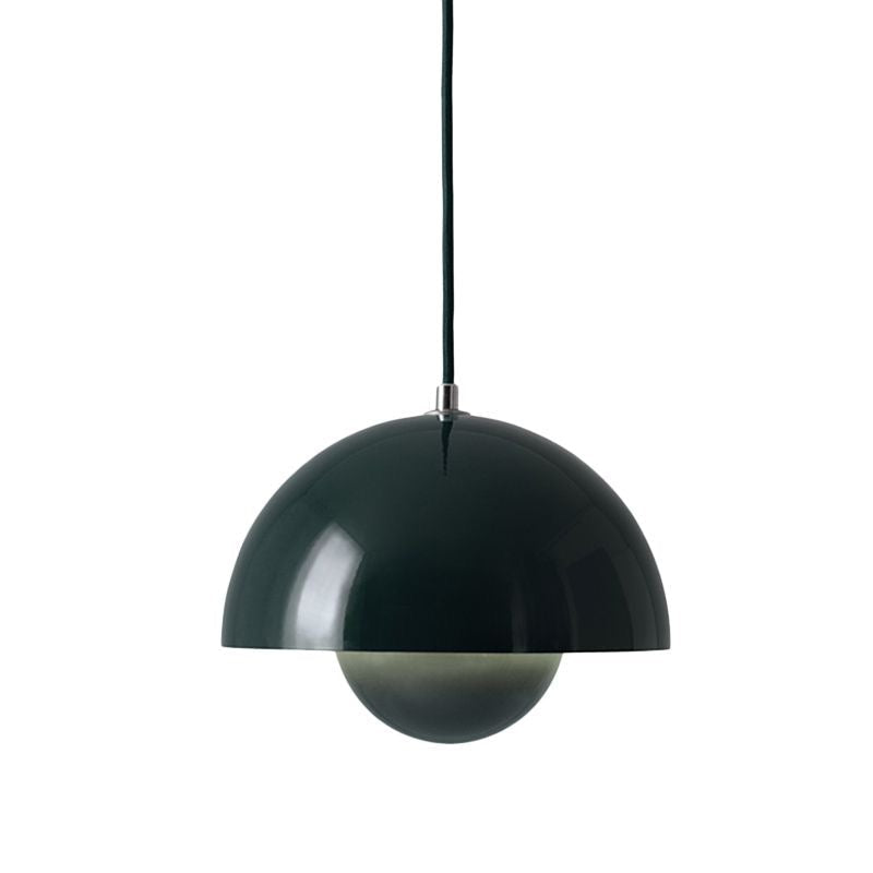 Flowerpot VP1 Pendant Lamp, Dark Green