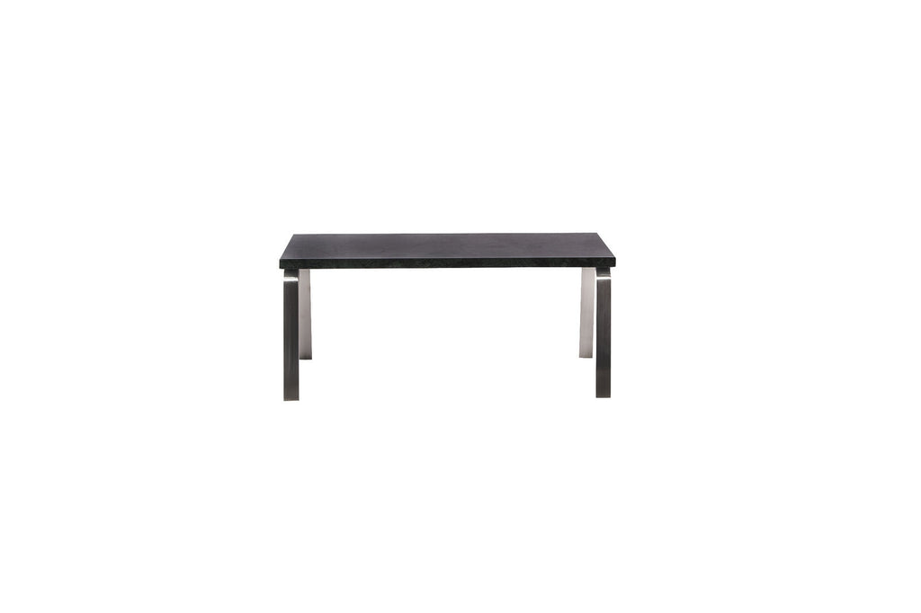 Man Side Table, Black Marble