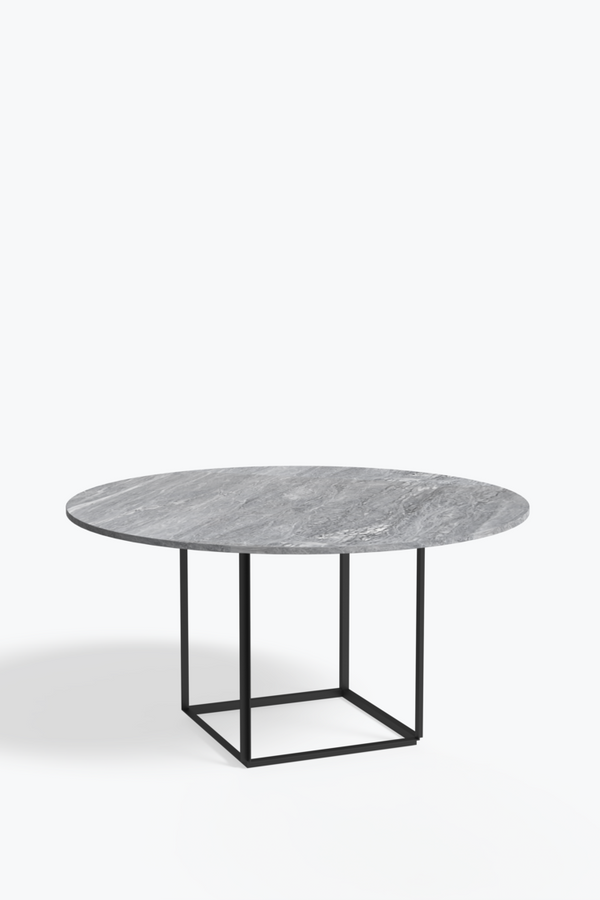 Florence Dining Table Ø145 w-Marble Table Top