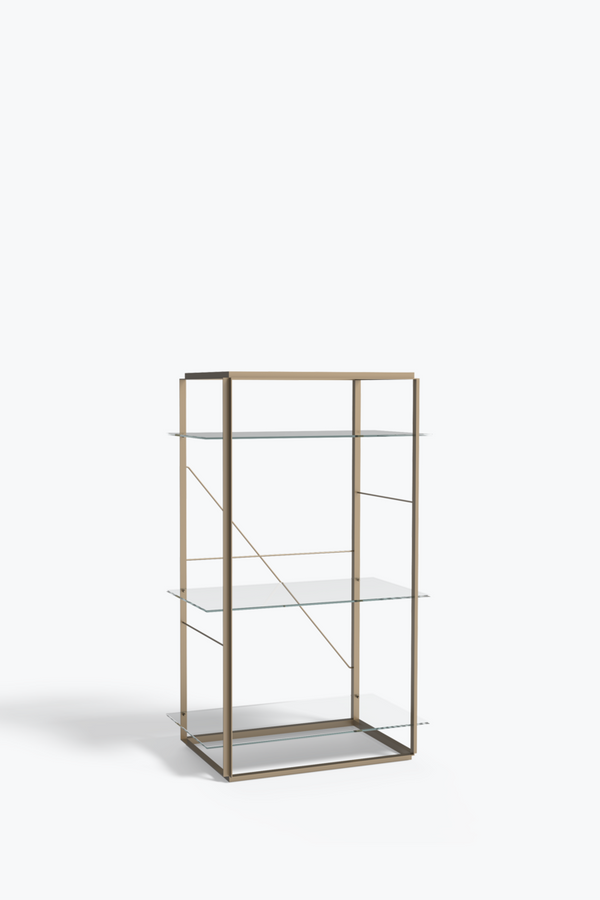 Florence Shelf Medium, Gold - Iron
