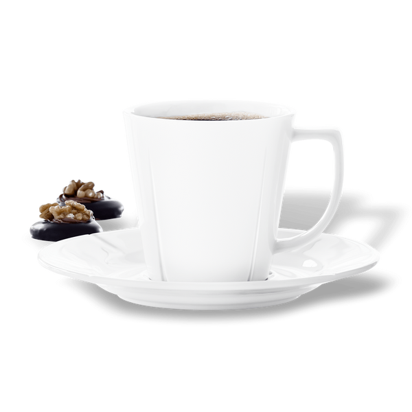 Grand Cru Cofffee Cup w-Saucer