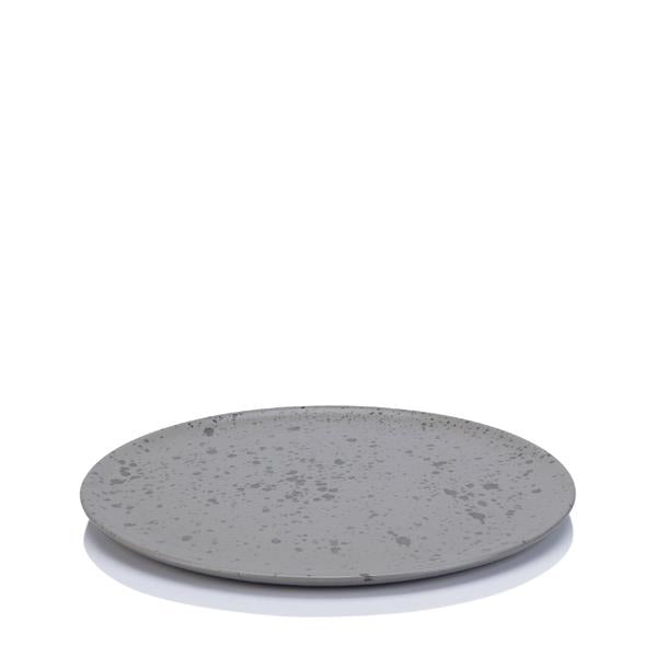 Raw Lunch Plate, Grey - Set of 6