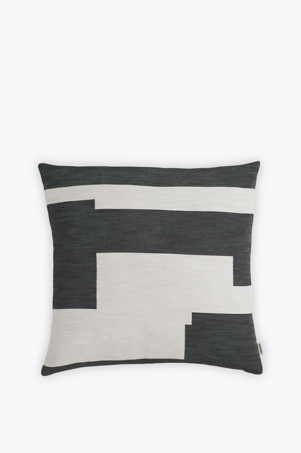 Graphic Cushion Large, Black
