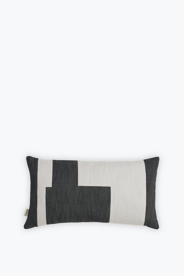 Graphic Cushion Small, Black