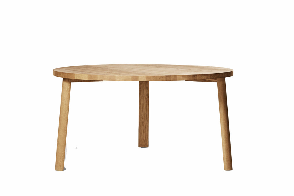 Ease Dining Table 3 legs-Seats 6 - Natural Oak