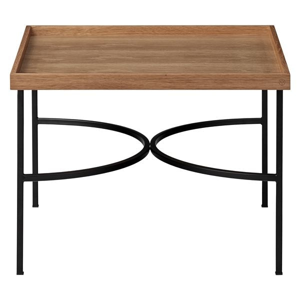 Unity Table, Oak & Black