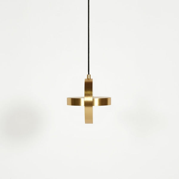 Plus Lamp, Brass