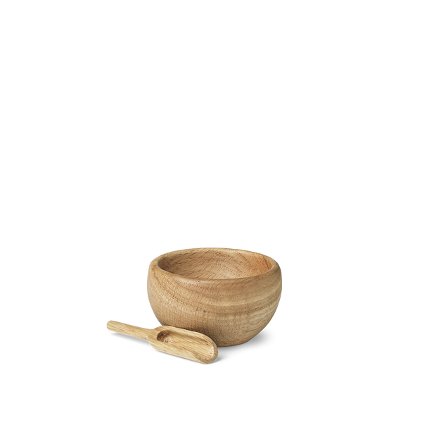 Menageri Salt Cellar w-Spoon