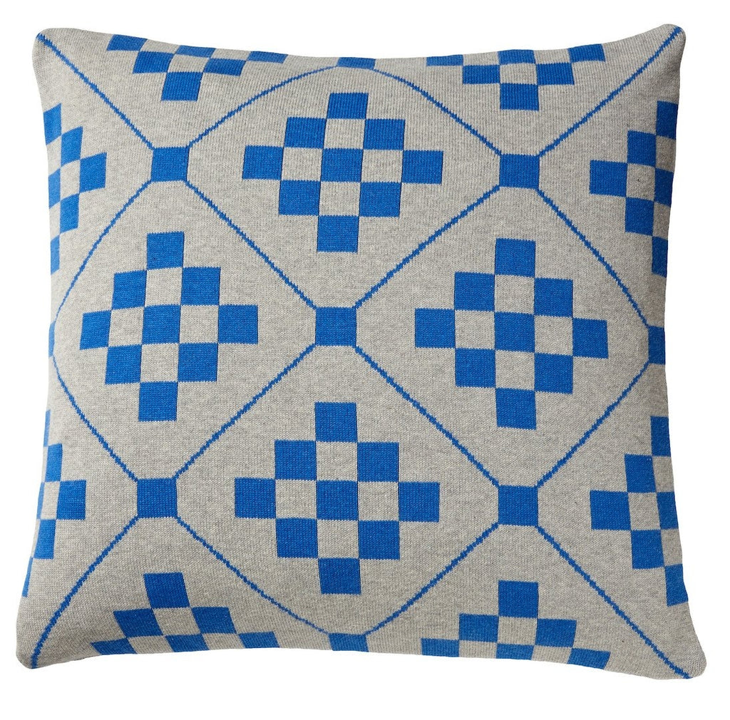 Chladni Cushion, Blue