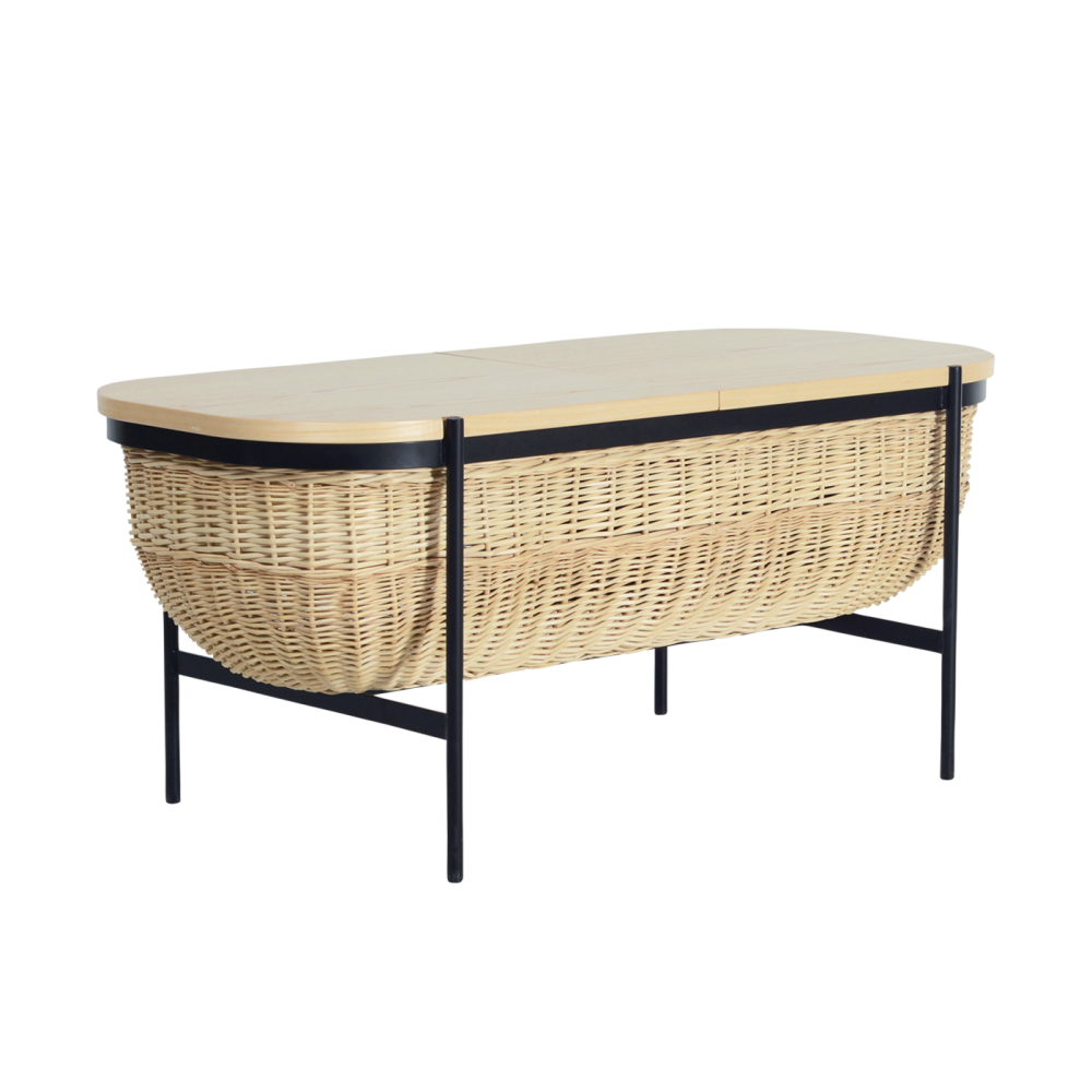 Willow Bench, Black