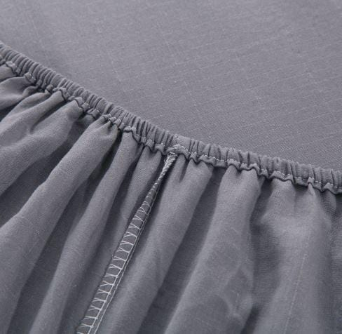 Grounding Fitted Replacement Bed Sheet Timeless Grey