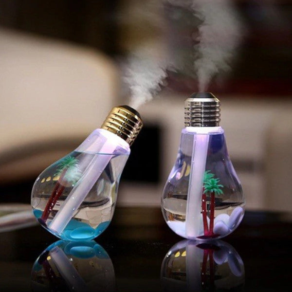 Light Bulb LED Humidifier