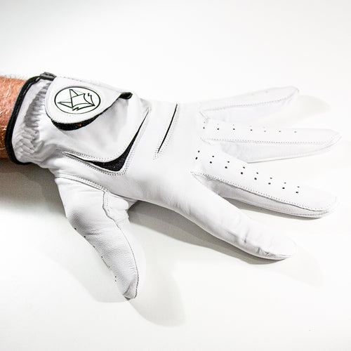 Leather golf glove