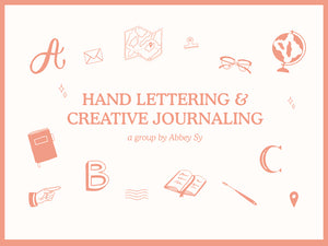 Calling Hand Lettering and Creative Journaling Enthusiasts!