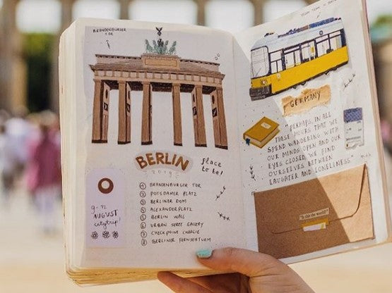 An Illustration Lover's Travel Journaling Inspirations