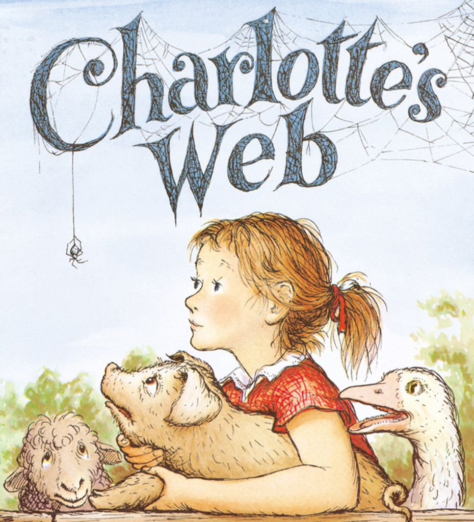 Cover Art to Charlotte's Web by E.B. White