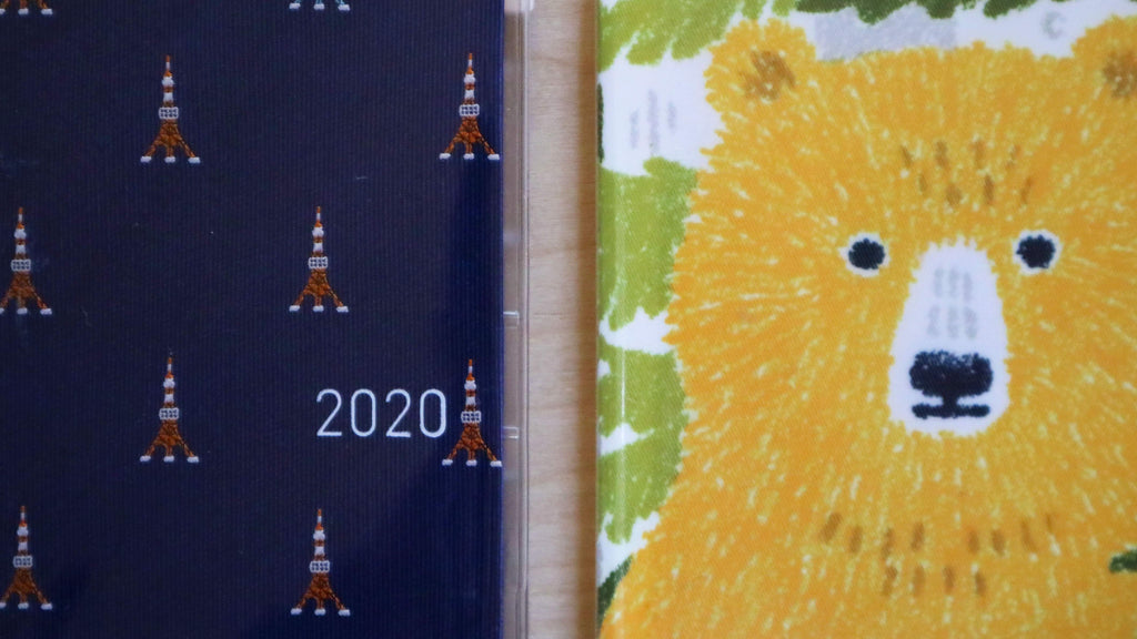 Image: Sophie's current Hobonichi Journals side-by-side