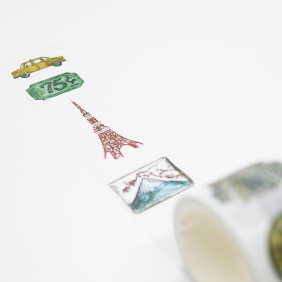 Buildings Washi Tape