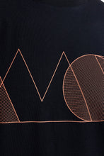 Load image into Gallery viewer, Anton Geometry Tee Black