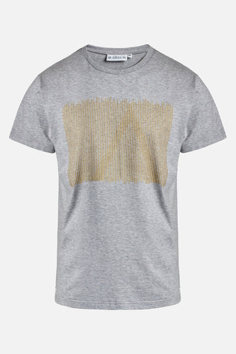 Adam Golden A Tee Light Grey Melange