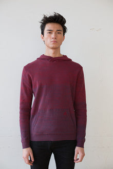Fading Knit Hoodie