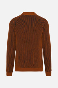 Claus Two-Tone Knit Amber
