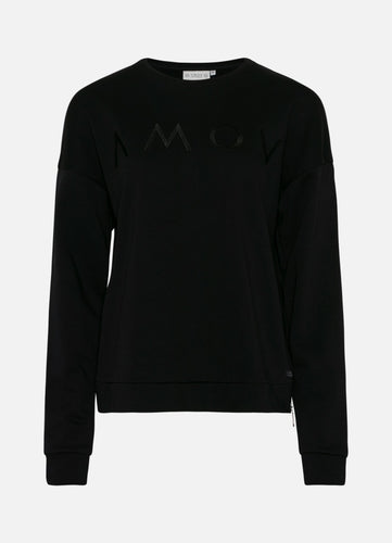 Astrid Logo Sweat Black