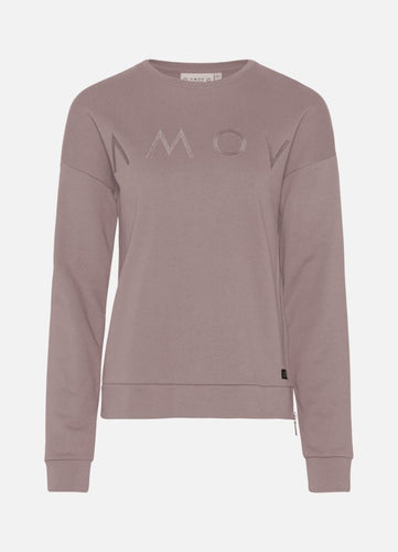 Astrid Logo Sweat Dusty Mauve