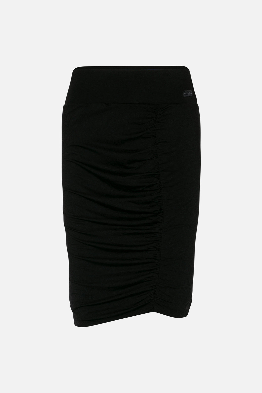 Corrine Tencel Skirt Black