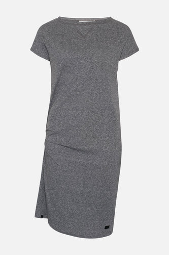 Ane Flame Dress Grey Melange