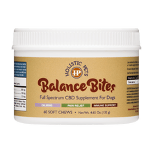 Load image into Gallery viewer, Balance Bites Dog CBD Chew - Full Spectrum CBD Supplement for Dogs | CBD soft chews for Dogs Online | Holistic Pets