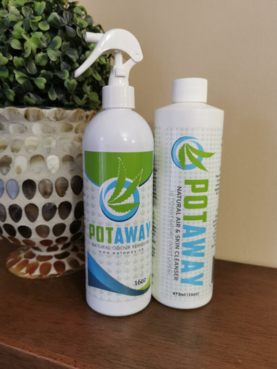 PotAway Room Spray & Refill Set