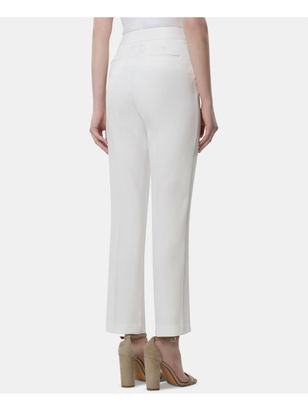 Ivory Straight leg Wear To Work Pants