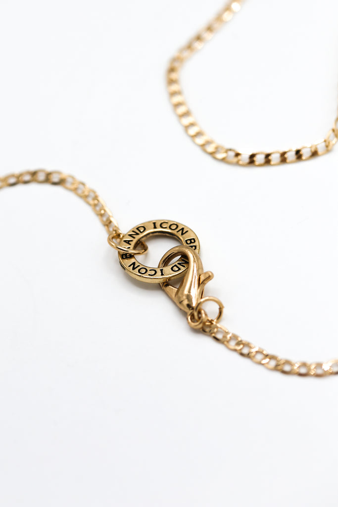 Flat Out chain necklace