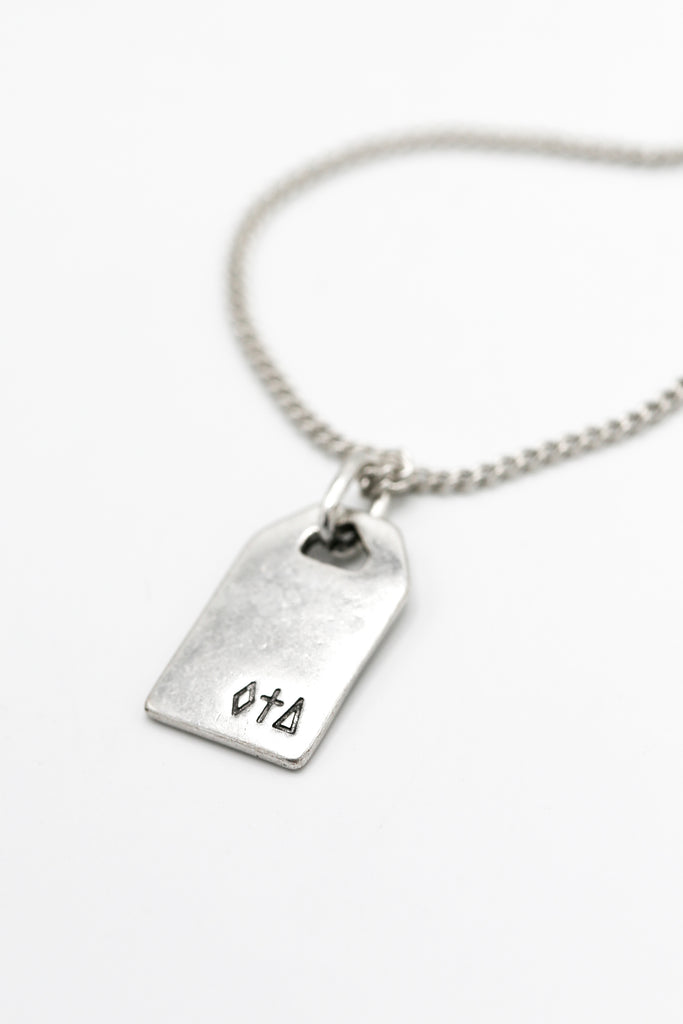 Symbolic Dog Tag necklace
