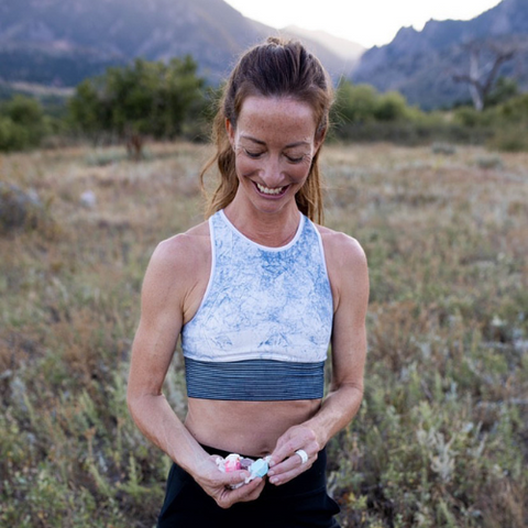 Love that our Active Rings are a part of @RUNNER4CAKE 's trail run kit!