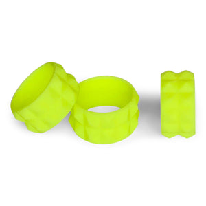 WOMENS ACTIVE SILICONE RING IN LOVE 30 (NEON YELLOW) BY THE BREAK ACTIVE RINGS & ACCESSORIES