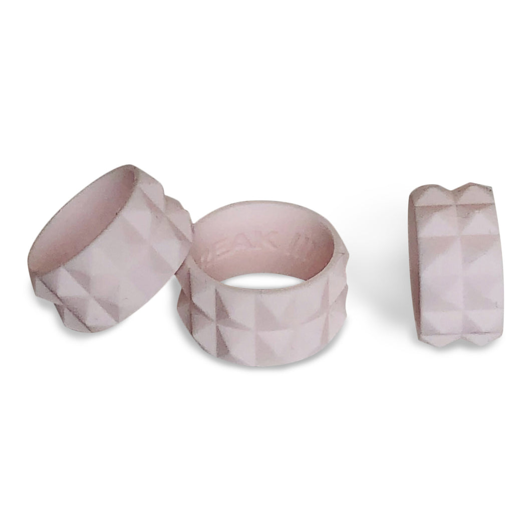 WOMENS ACTIVE SILICONE RING IN PEONY (PALE BLUSH PINK) BY THE BREAK ACTIVE RINGS & ACCESSORIES