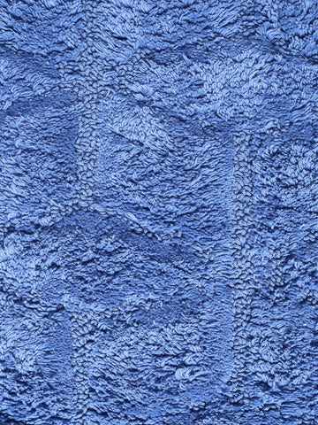 Saral Home Premium Quality Cotton Multi Purpose Handloom Made Rugs -70x130 cm - PURPLE