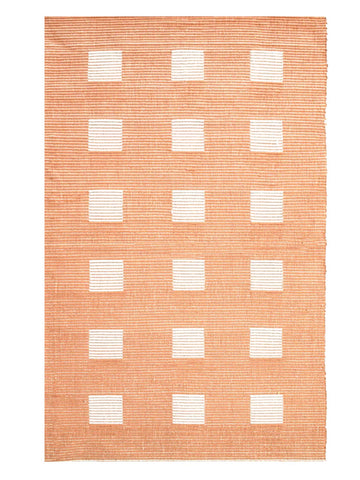 Saral Home Grey Cotton Multi Purpose Handloom Made Carpet/Rugs