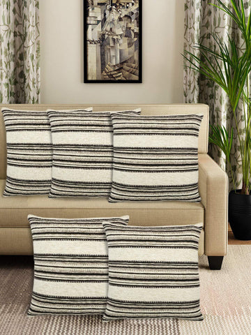 Saral Home Soft Micro Chenille Cushion Cover