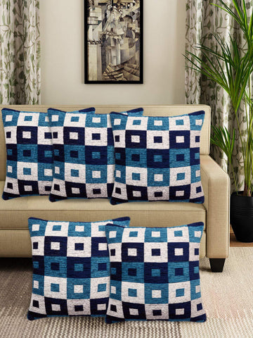 Saral Home Pattern Cushion Cover- 40*40cm( 5PC & 2PC )