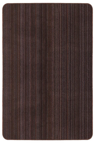 Saral Home Striped Modern Carpet ( Microfiber, 120x180 cm)