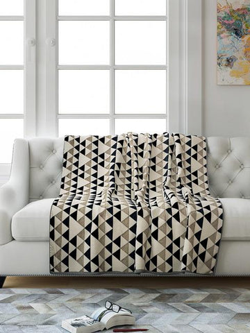 Saral Home Hill Design Sofa Throw