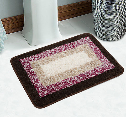 Combo-Frame Cotton Bathmat