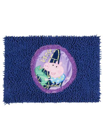 PEPPA-PIG patch bathmat ( 40x60cm BLUE)