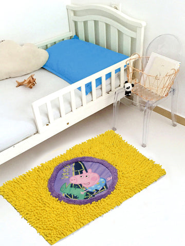 PEPPA PIG PATCH BATHMAT ( 40x60cm YELLOW)