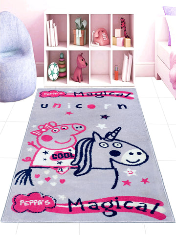 Peppa-Pig Carpet (80X130CM -Purple)