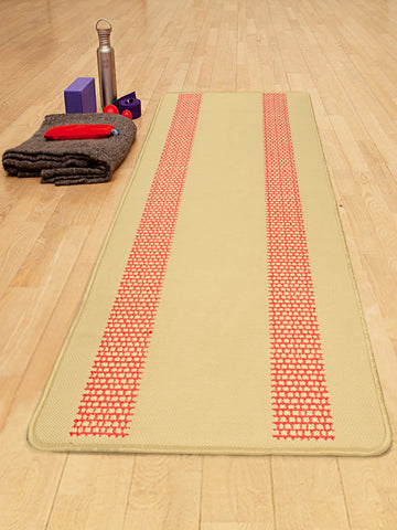 Sutra Design Hand Woven Antis kid Washable Yoga Mat + Carry bag (70x170cms)