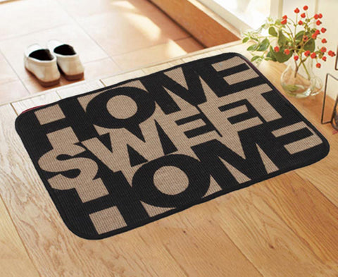 Buy this beautiful Home Sweet Home Printed Jute Mat Product from saral home.